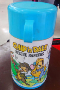 CHIP 'n DALE Rescue Rangers Plastic ALADDIN Industries Inc 8 Oz