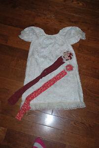 Custom Lace Christmas Holiday Peasant Dress - 4 &6 Kitchener / Waterloo Kitchener Area image 3