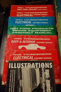 Thunderbird service manuals