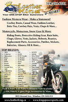 Motorcycle Attire, Parts & More...