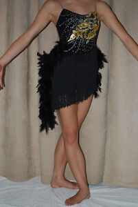 Jazz Black Dazzling Costume