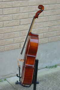 quarter size cello , handmade whole solid wood ,beautiful sound Stratford Kitchener Area image 4