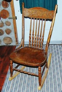 Pressed Back Rocking chair reduced Cornwall Ontario image 1