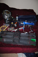 Almost everything you need to play paintball