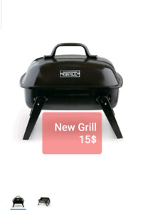 Small table top backyard bbq grill. New