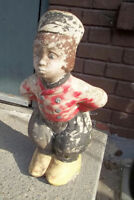 Dutch Boy, Cement, Multichrome, Vintage, Great Look Lawn Ornamen