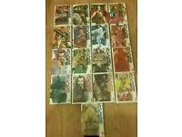 King GONTA Manga Rare lot issues 1-17 Samurai Comic VGC