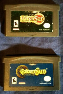 Golden Sun games for GBA