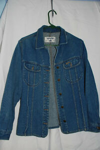 Jeans Jacket Woman's, from Europe, M, good condition
