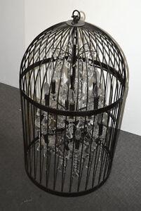 Vintage Birdcage Chandelier   Lamp London Ontario image 1