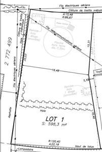 Terrain résidentiel à St-Basile-Le-Grand 180 000$ 6 600PC