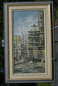 C. Burnett Oil Painting - Paris