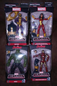Marvel Legends Build A Figure Partial Sets and Singles