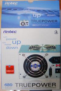Power Supply Antec TruePower 480W Brand New
