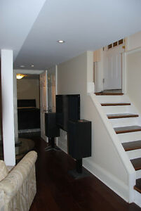 1 Bedroom Basement Apartment Yonge and Lawrence