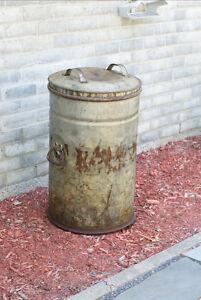 bidon 20 gallons antique