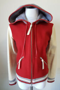 ROOTS Womens Varsity Bomber Jacket (New with tags)
