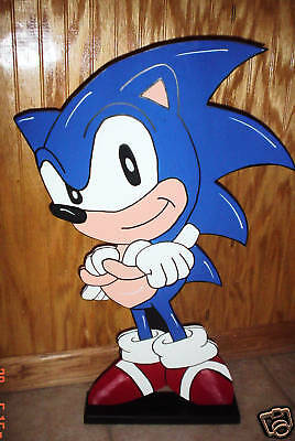 Sonic the Hedgehog standup children's birthday party decorations supplies