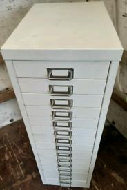 Filing cabinet white