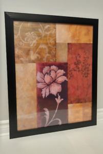 Home Decor | Hanging Wall Art: Flower Print