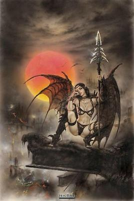 Luis Royo Tinkerbell Poster (Luis Royo : Black Tinkerbell - Maxi Poster 61cm x 91.5cm new and sealed )