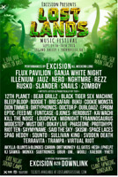 Lost lands music festival 2 tickets GA 3 days + camping
