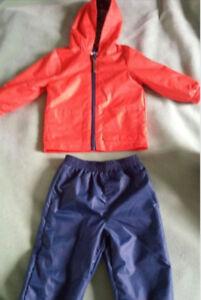 Pantalon - manteau automne pour enfant 18 mois