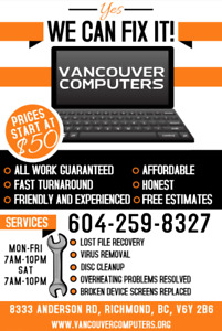 Computer problems? We can fix it!