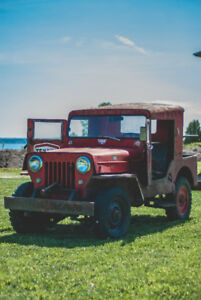 Jeep Willys 1959 (antique)