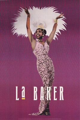 POSTER:FAMOUS PEOPLE : JOSEPHINE BAKER - La BAKER - FREE SHIPPING! #1849 RC54 G Josephine Baker Famous