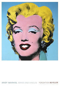 Marilyn Monroe (Blue), Offset Lithograph, Andy Warhol
