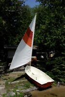 Excellent 8 foot Sailboat For Sale