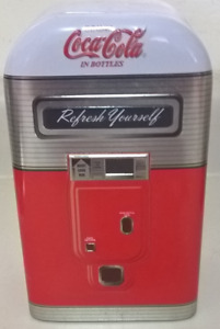 "Vintage  Coca-Cola ""Refresh Yourself"" Vending Machine Tin"