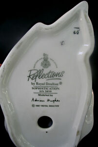 Reflections by Royal Doulton SOPHISTICATION - HN 3059 - 1987 Kawartha Lakes Peterborough Area image 3