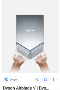 Dyson Blade V touchless automatic hand dryer