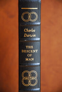 Charles Darwin's The Descent of Man - Limited Edition!