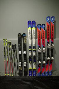 Junior Race Skis Blizzard Dynastar  Free Skis Volkl Poles Leki