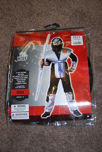 Ice Wolf Ninja Costume (size medium)