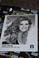 SIGNED Julie Cialini Playboy Playmate of the Year 8X10 picture