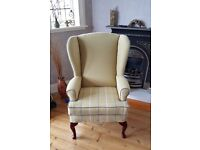 Restored Wingback Chair