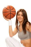 WANT TO LOSE WEIGHT THE SMART WAY LADIES??? PLAY BASKETBALL!!!!!