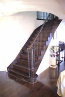 Stairs and Hardwood installation