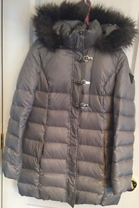 Silver Guess winter coat