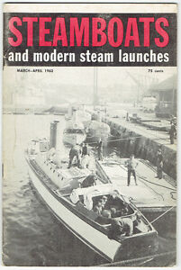 "Nine 1961/62/63 ""Steamboats and Modern Steam Launches"" Magazines Kingston Kingston Area image 7"