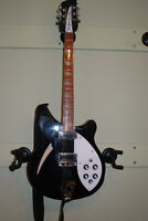 2005 Rickenbacker Jet-Glo 360-12 12 string guitar with case