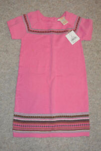 Brand New With Tags Girls Size 4 Sweater Dress