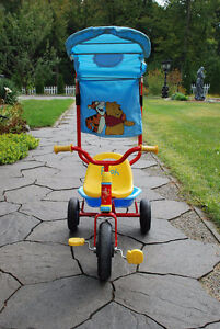 Pooh Bear Tricycle with Sun Shade