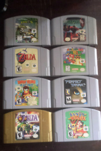 N64 Games - Prices Listed in Ad