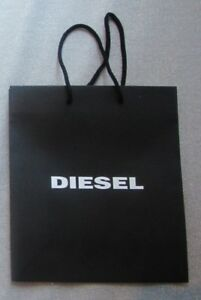 "BLACK DIESEL AUTH GIFT BAG 12.5""X11""X4.5"" NEW DECORATIVE"