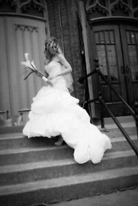 BEST OFFER: Prof cleaned designer wedding gown with veil